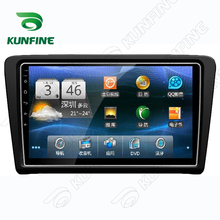 Quad Core 1024*600 Android 5.1 Car DVD GPS Navigation Player Deckless Car Stereo for Skoda RAPID 2014 Radio Bluetooth