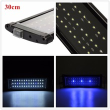 1pcs 2016 Hot-selling led grow 30cm 40cm 60cm 90cm led aquarium light  for coral reef fish Full Spectrum led aquarium led lamp