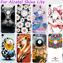 Cases For Alcatel Shine Lite Cover One Touch Shine Lite 5080 5080X Mobile Phone Skin Silicon Soft TPU Bags Skin Housings
