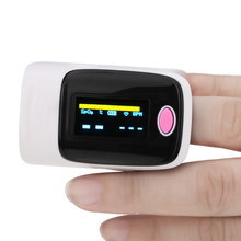 OLED Digital Finger Pulse Oximeter Blood Oxygen SPO2 Heart Rate Monitor LED Display Home Health Care Pink Pulse Oximeter