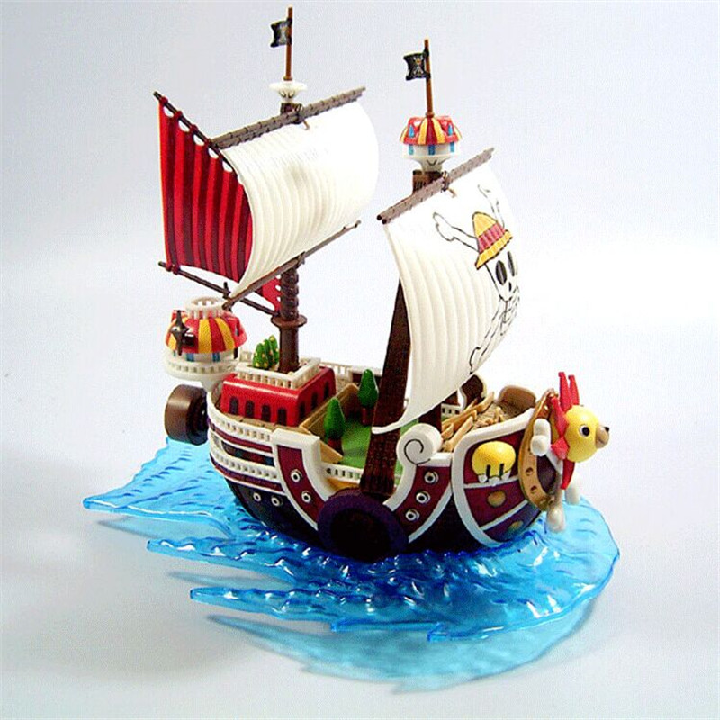 15cm One Piece  PVC  Action Figure Toys, One Piece Sonny Wanli Sunshine Pirate Boat Figure Model, Kids Toy, Anime Brinquedos<br><br>Aliexpress
