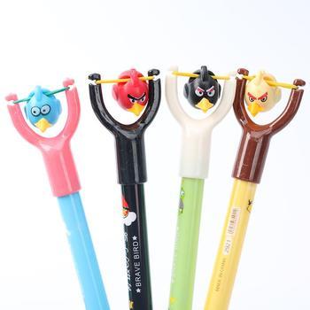 1 Pc Creative Brave Bird Ballpoint Pens Novelty Cartoon Plastic Ballpen Student Stationery Office School Supplies