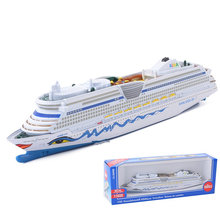 SIKU 1720 Toy/DieCast model/1:1400 Scale/Aida Luxury Cruise Civilian Ship/For Children's Festival Gift/Educational Collection(China)