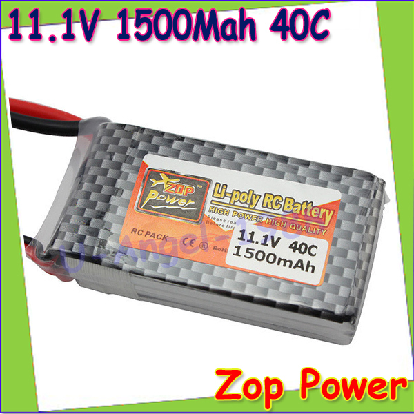 1pcs Original ZOP Power LiPo Battery 11.1V 1500Mah 3S 40C MAX 60C T Plug For RC Car Airplane Helicopter Drop Free shipping<br><br>Aliexpress