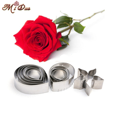 Metal cookie cutters set big rose flower stainless steel tools Home Furnishing products kitchen supplies baking mould