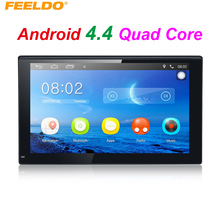 "7inch Ultra Slim Android 4.4.2 7"" Quad Core Car Media Player With GPS Navi Radio For Nissan/Hyundai 2DIN ISO #3887"