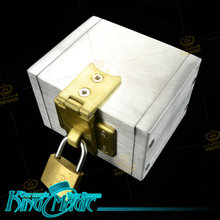 Locked Box King Magic Tricks Props Toys Email Video To You(China)