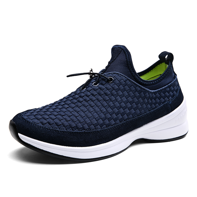 New hot sale breathable running shoes authentic knit mesh men shoes quality trainers outdoor jogging homme<br><br>Aliexpress