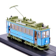 1:87 Scale  Model Train A2.2(rathgeber)-1901 Tram  Diecast Train Model 1/87 Trolley Bus Model Model Collection D