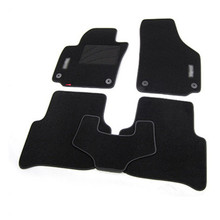 5pcs High Quality Odorless Auto Carpet Mats Perfect Fitted For Skoda Yeti