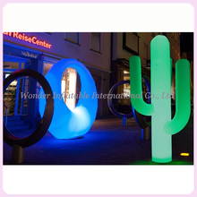 Fascinating inflatable lighting cactus / inflatable led cactus cone for event decoration