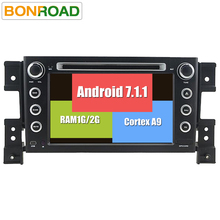 "7""2Din Android 7.1.1 RAM 2G Car dvd For grand vitara 2007-2011 Stereo gps navigation car radio USB audio video player BT/Wifi/3"