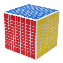 YKLWorld 11 Layers 10.85cm Sticker Professional Speed Ultra-smooth Magic Cube Twist Puzzle Square Cubes Educational Toys -50