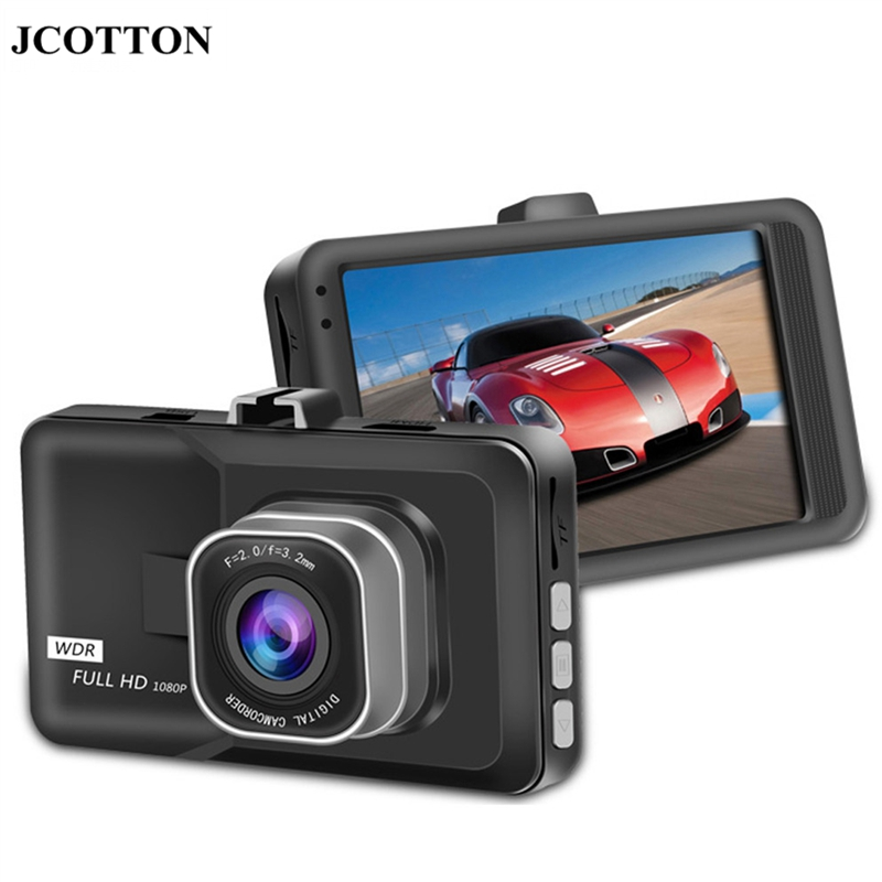 "JCOTTON 3.0"" 1080P full HD Car DVR Vehicle Camcorder Night Vision Dash Cam REAR VIEW CAMERA Digital Video Registrator Recorder(China (Mainland))"