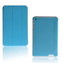 Fashion Three Folds PU Leather Folding Folio Case for HP Compaq 7J 7+ for 7'' Tablet PC Cover Case(China)