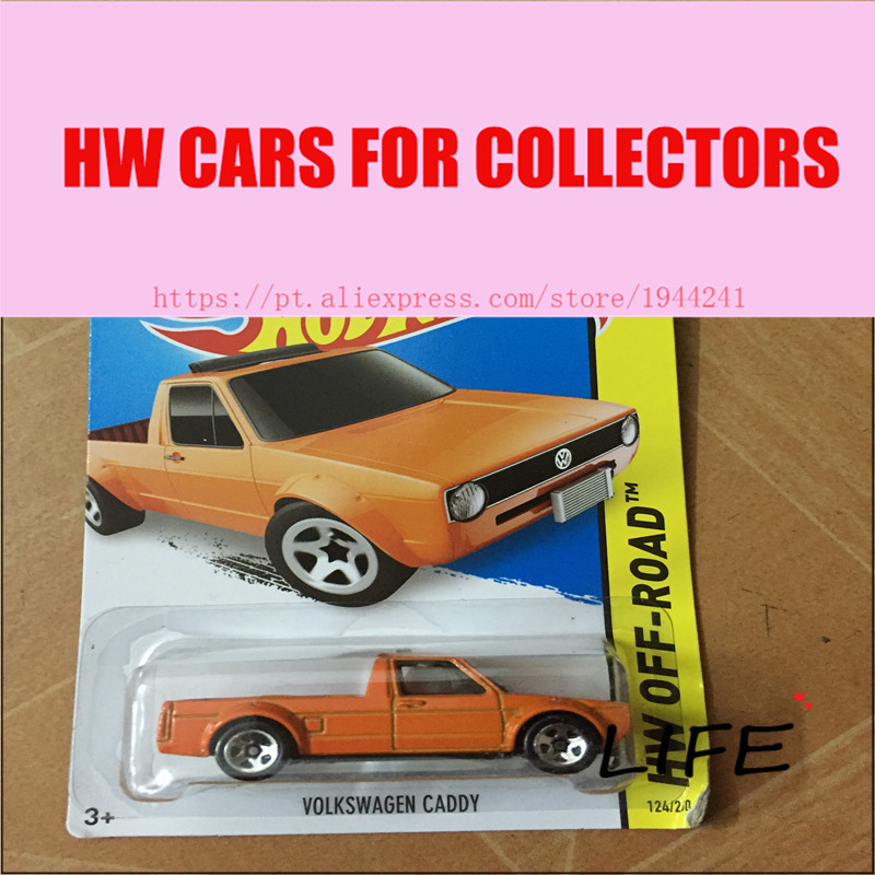 Toy cars Hot Wheels 1:64 Volkswagen Caddy Car Models Metal Diecast Cars Collection Kids Toys Vehicle For Children Juguete(China)