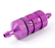 HSP 80118 Alum Purple Fuel Filter RC 1:8 Nitro Car Truck Upgrade Parts