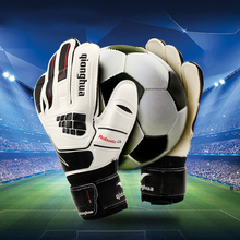 2017 Adult Professional Soccer Goalkeeper Gloves Anti-skid Latex Football Gloves Sizes Portero Goalie Glove
