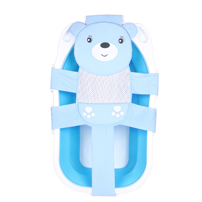 2018 Kids Newborn Baby Foldable Baby Bath Tub Shower Seat Net ...