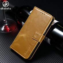 Buy AKABEILA PU Leather Wallet Flip Stand Phone Case Cover Elephone S7 5.5 inch Crazy Horse Covers Bags Shell Skin Hood Housing for $4.11 in AliExpress store