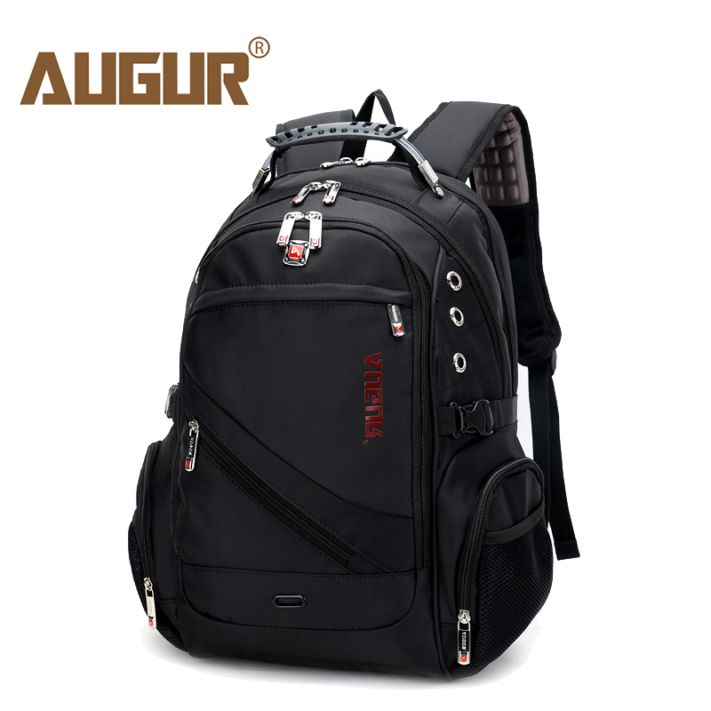 AUGUR 2018 Brand Men Backpack Waterproof 17inch Laptop Back pack For Male Teenage college Dayback Larger Capacity Travel Bag<br>
