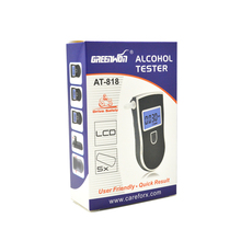 5pcs/Lot Free Shipping to Russian Protable Police Breathalyzers Analyzer Detector Digital LCD Alcohol Breath Tester(China)