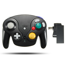 2.4G Wireless For Gamecube Interface Gaming Controller Joypad Joysticks For Nintendo For GC NGC For Gamecube Game Gamepad