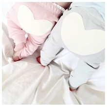 Toddler Infant Baby Boy Girl Heart Cotton Bottom Pants Trousers Leggings 6-24M Long Trousers Ruffle PP Pants DS19(China)