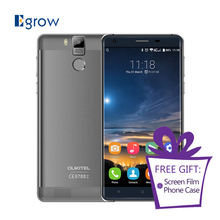Original OUKITEL K6000 Pro Android 6.0 Cell Phones MTK6753 Octa cores 3G RAM 32G ROM Smartphone 5.5 Inch 6000 mAh Mobile Phone