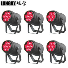 Free Shipping 6pcs/Lot New Product 7 x 15w Rgbw 4 In 1 Led Par Can Zoom Par Light(China)