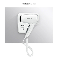 Hotel bathroom home bathroom hair dryer dry skin hanging wall hanging hair dryer for 220v(China)