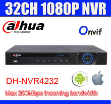 NVR4232 DAHUA 32CH NVR 5MP/3MP/1080P NVR VGA+HDMI OUTPUT Onvif Network Video Recorder Easy Access PC And Mobile View