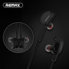REMAX Bluetooth V4.1 Sport GYM in-ear Earphone Wireless Magnetic Headset Remote Running in-ear phones with Mic for cell phone(China)