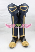 Dynasty Warriors 8: Xtreme Legends Yue Jin high boots Cosplay Boots customize any size 2105(China)