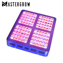 MasterGrow 600W 900W 1200W Full Spectrum Double Chip LED Grow Light Red/Blue/UV/IR With Electroplated Reflector For Indoor Plant(China)