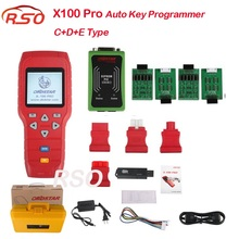 OBD STAR X-100 PRO X100 Pro Auto Key Programmer C+D+E Type for IMMO&ODOMETERand OBD Software Function with EEPROM free ship