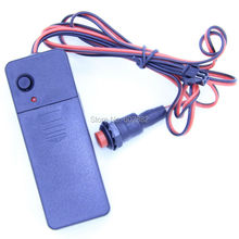 3v AA portable inverter with control wire for el wire, el tape and el panel(China)