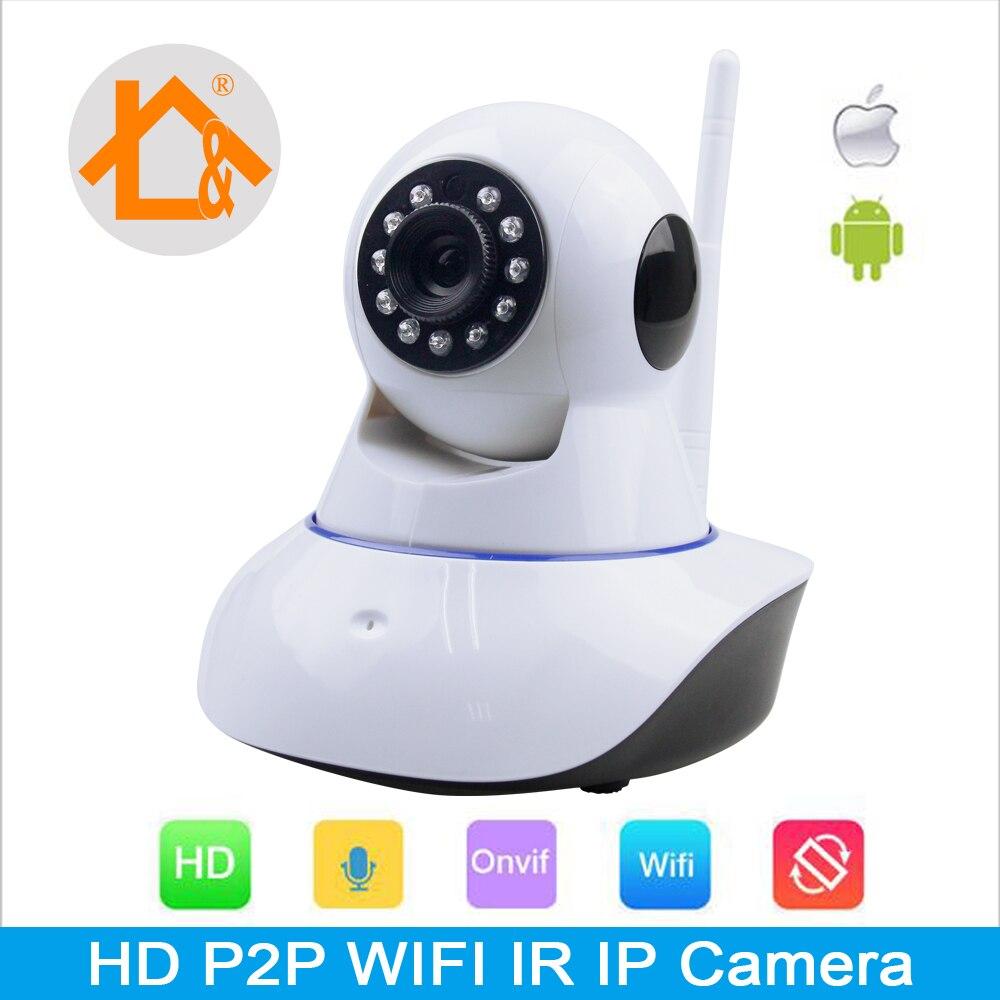 Security Network CCTV WIFI IP Camera Megapixel 720P HD Wireless Digital Security Camera IR Infrared Night Vision IP Camera<br><br>Aliexpress