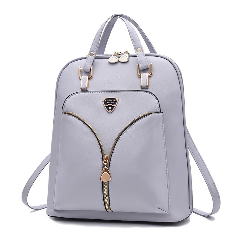 Nevenka Anti Theft Leather Backpack Women Mini Backpacks Female Travel Backpack for Girls School Backpacks Ladies Black Bag 201804