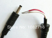 2pc Bullet Tip DC Plug 4.8x1.7mm male cable power adapter connector cord 1.18m For HP Sharp etc. Laptop Notebook , Free shipping