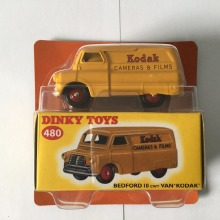 DINKY TOYS 480 BEDFORD 10 cwt Atlas VAN KODAK 1:43 KODAK CAMERAS & FILMS ORANGE Alloy Diecast Car model & Toys Model(China)