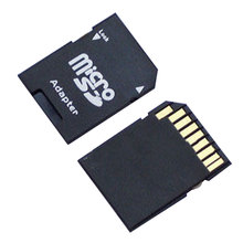 2PCS Hot Sale Popular Micro SD TransFlash TF to SD SDHC Memory Card Adapter Convert into SD Card