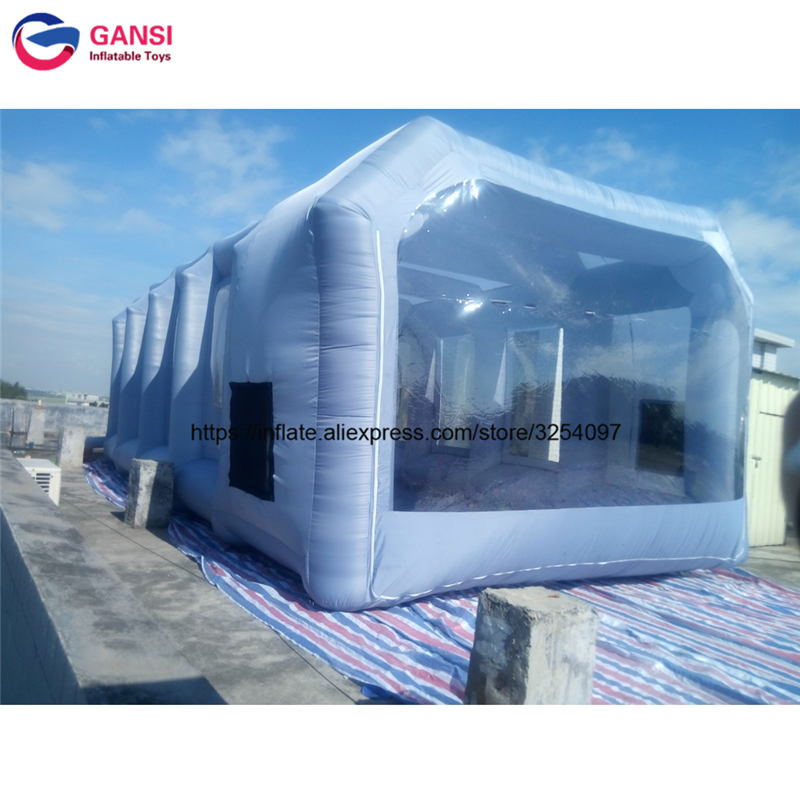 inflatable paint spray booth62