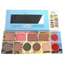 Face pallete 2 blushers 8 eyeshadows matte naked kit palette Kiss Beauty Brand pallet make up Eyeshadow palette(China)