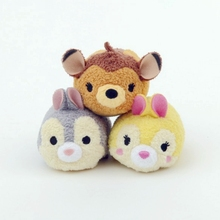 TSUM TSUM Bambi Deer Thumper Rabbit Plush Toy Kids Birthday Christmas Gift Phone Creamer
