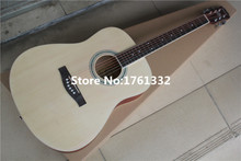 Special price 41-inch mattt natural wood color plywood acoustic guitar  for beginner,Can be customized on request. In Stock
