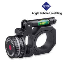 Discovery Angle Gauge Bubble Level Fit 25.4mm and 30mm Scope Mount Rings for optical rifle scope sight Hunting Accessories(China)