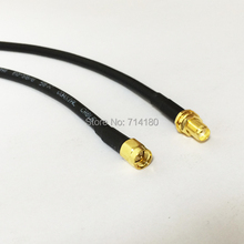 RF WiFi Antenna  SMA  Male Cable  To   SMA Female Pigtail  Wireless 50CM for wifi router extension adapter wholesale