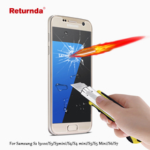 Wholesale 9H 2.5D For Samsung Galaxy S2 i9100/S3/S3mini/S4/S4 mini/S5/S5 Mini/S6/S7 Premium Tempered Glass Film Screen Protector