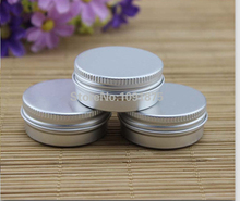 Free shipping 50pcs/lot 30g aluminum jars, 1oz silver aluminum cream jars, 30ml aluminum tin container, 30ml aluminum tin can